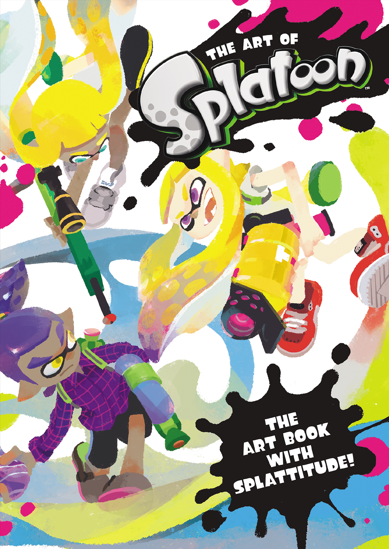 ART OF SPLATOON HC VOL 01 (FEB170015)