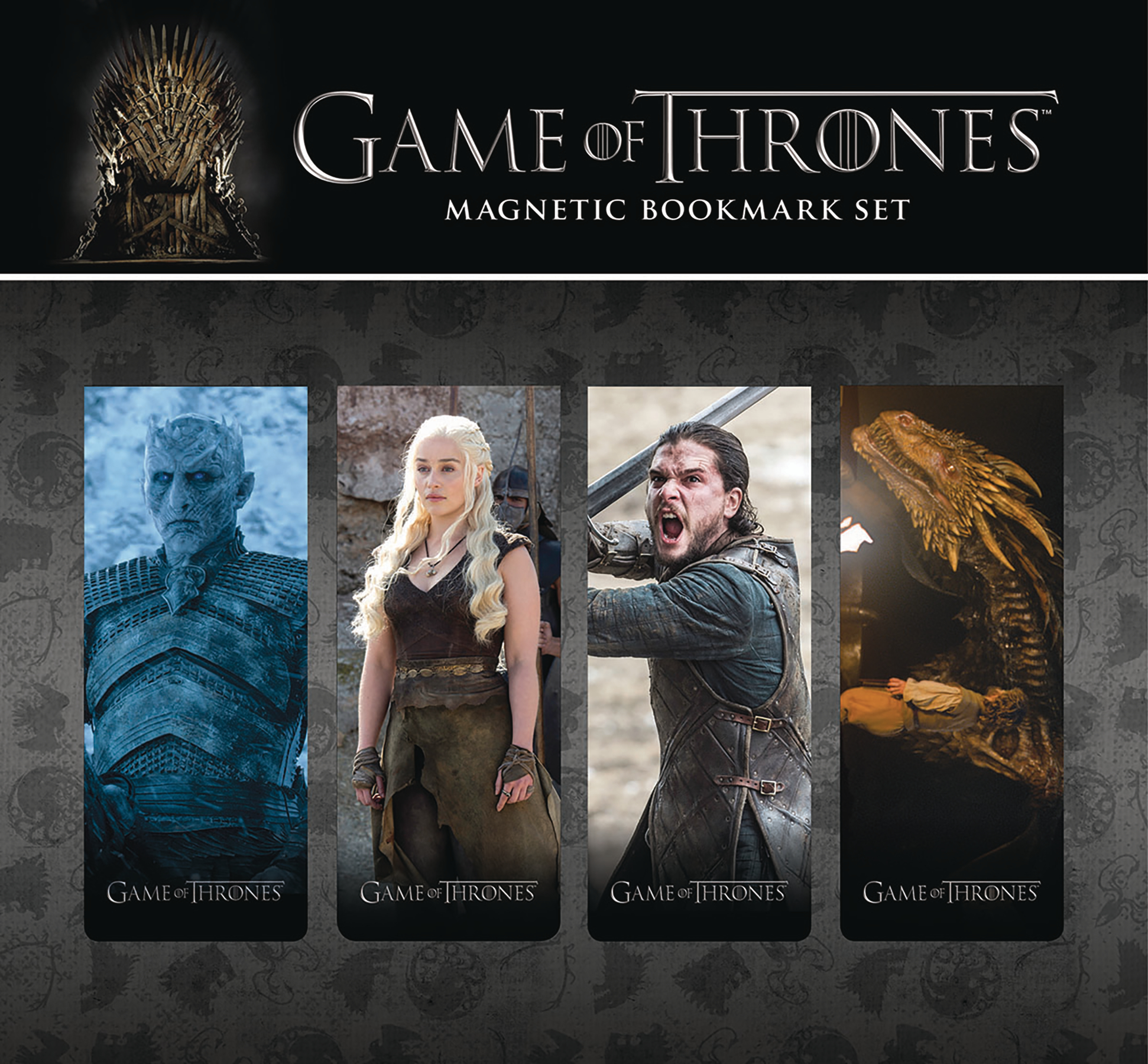 GAME OF THRONES MAGNETIC BOOKMARK SET 3