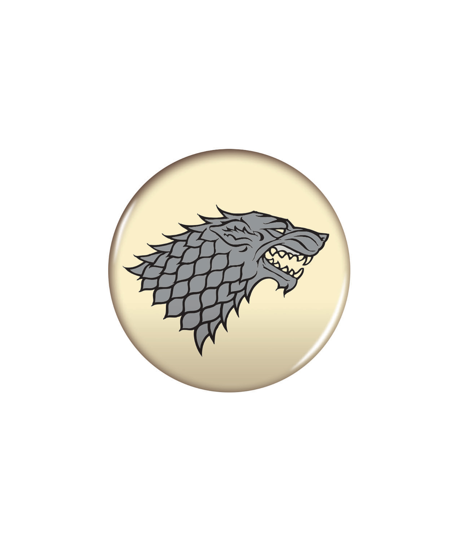 GAME OF THRONES MAGNET 2.25 IN STARK