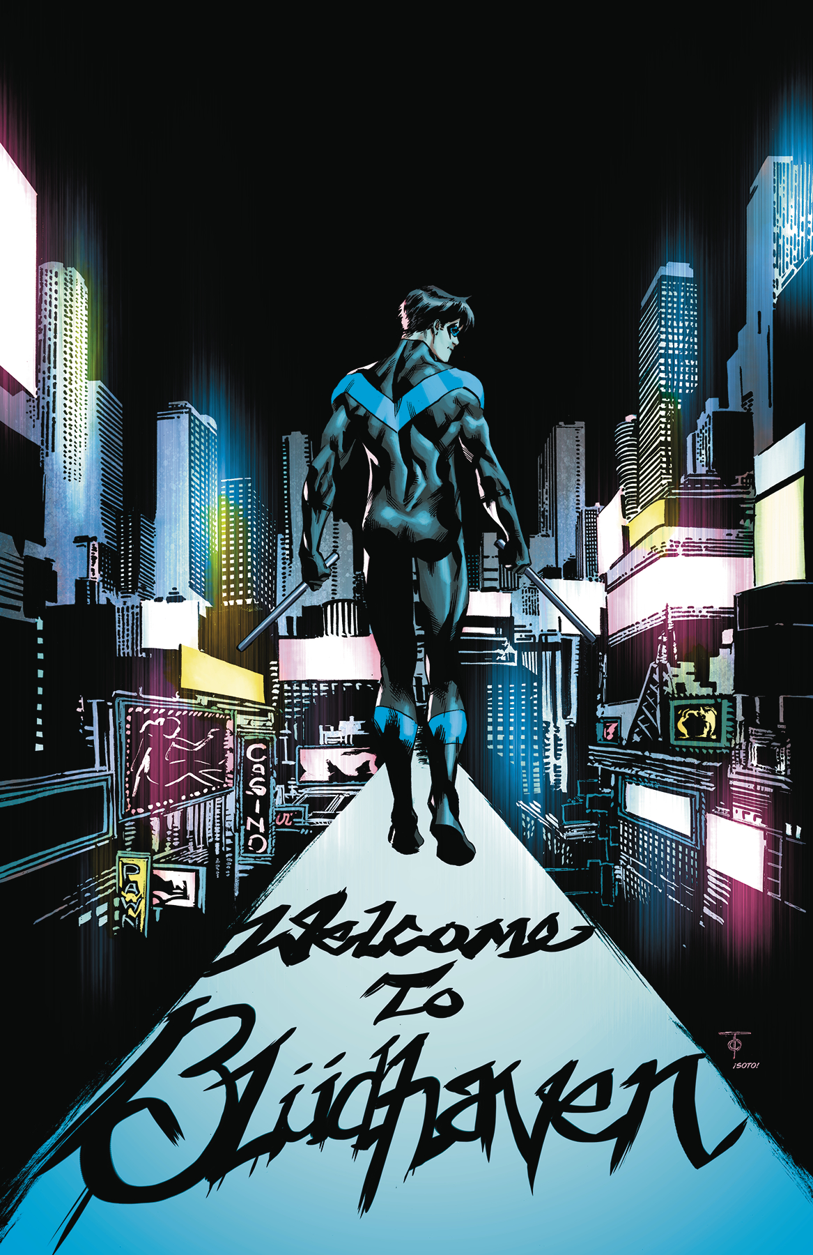 NIGHTWING TP VOL 02 BACK TO BLUDHAVEN (REBIRTH)