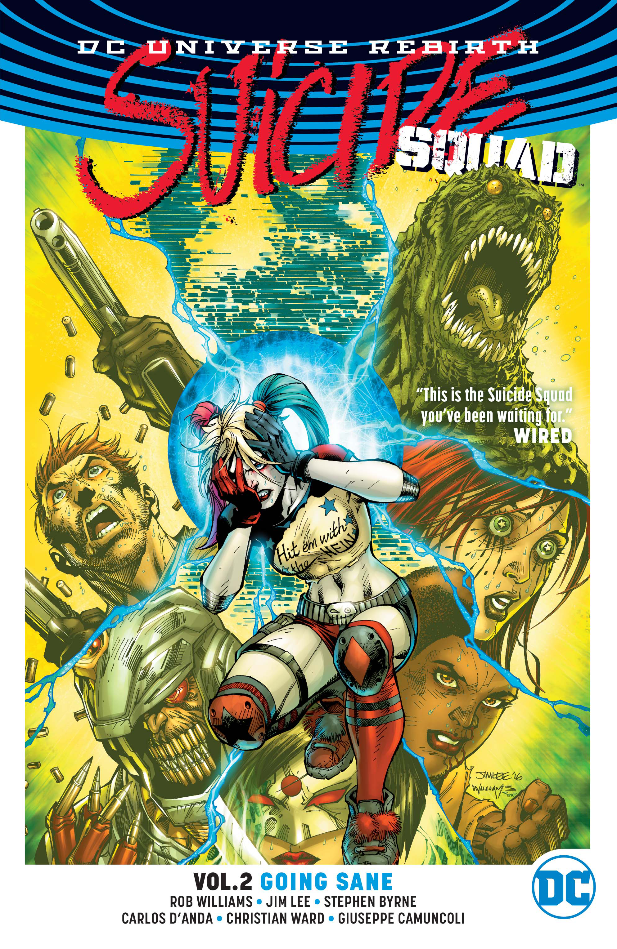 SUICIDE SQUAD TP VOL 02 GOING SANE