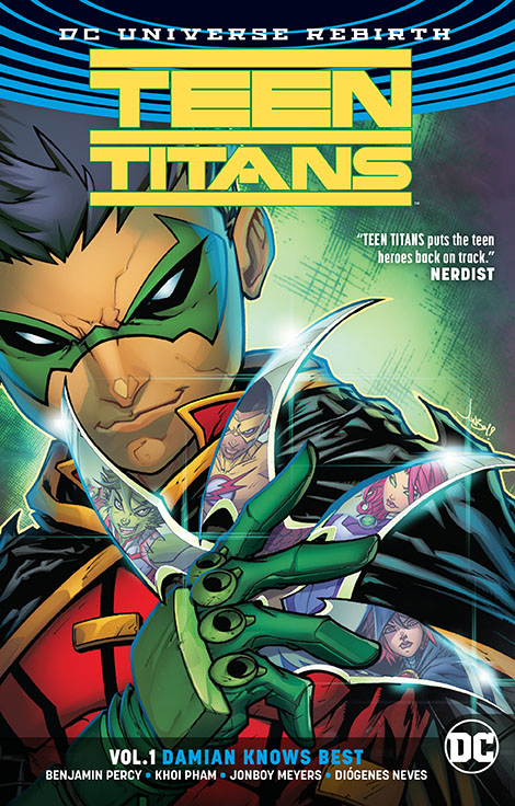 TEEN TITANS TP VOL 01 DAMIAN KNOWS BEST