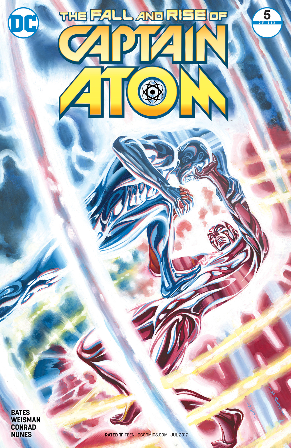 FALL AND RISE OF CAPTAIN ATOM #5