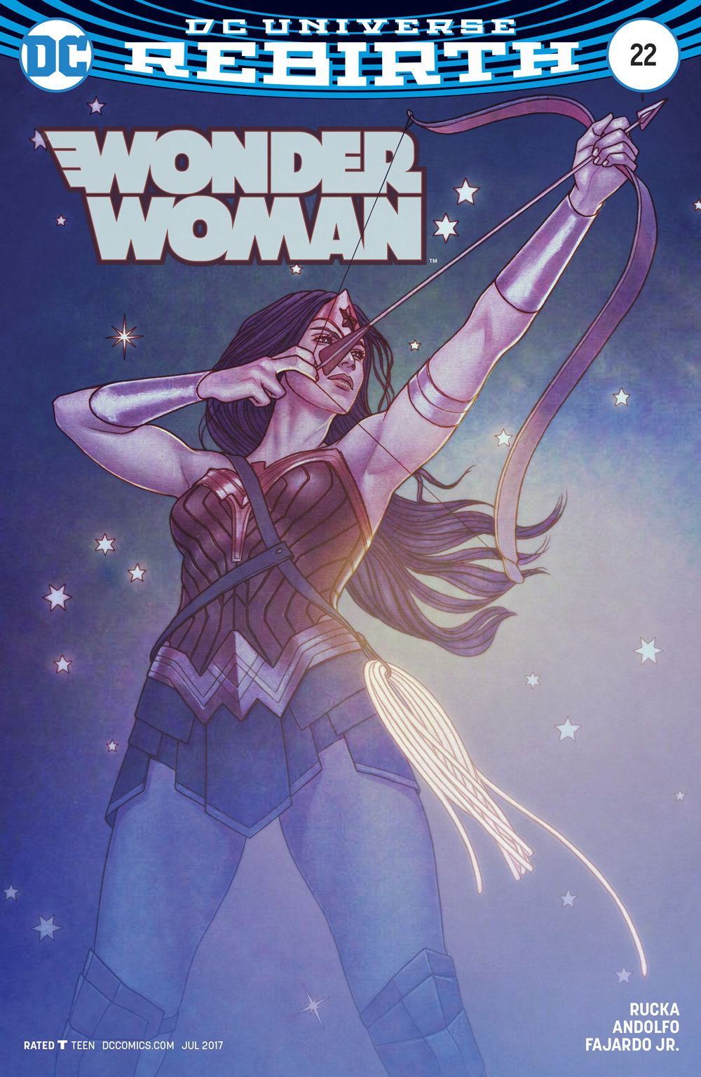 WONDER WOMAN #22 VAR ED
