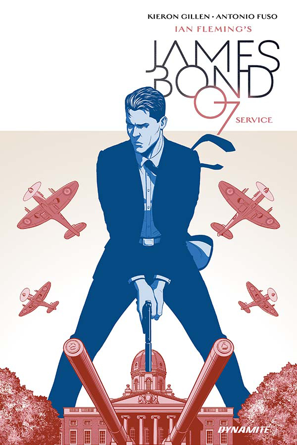 james bond service cover