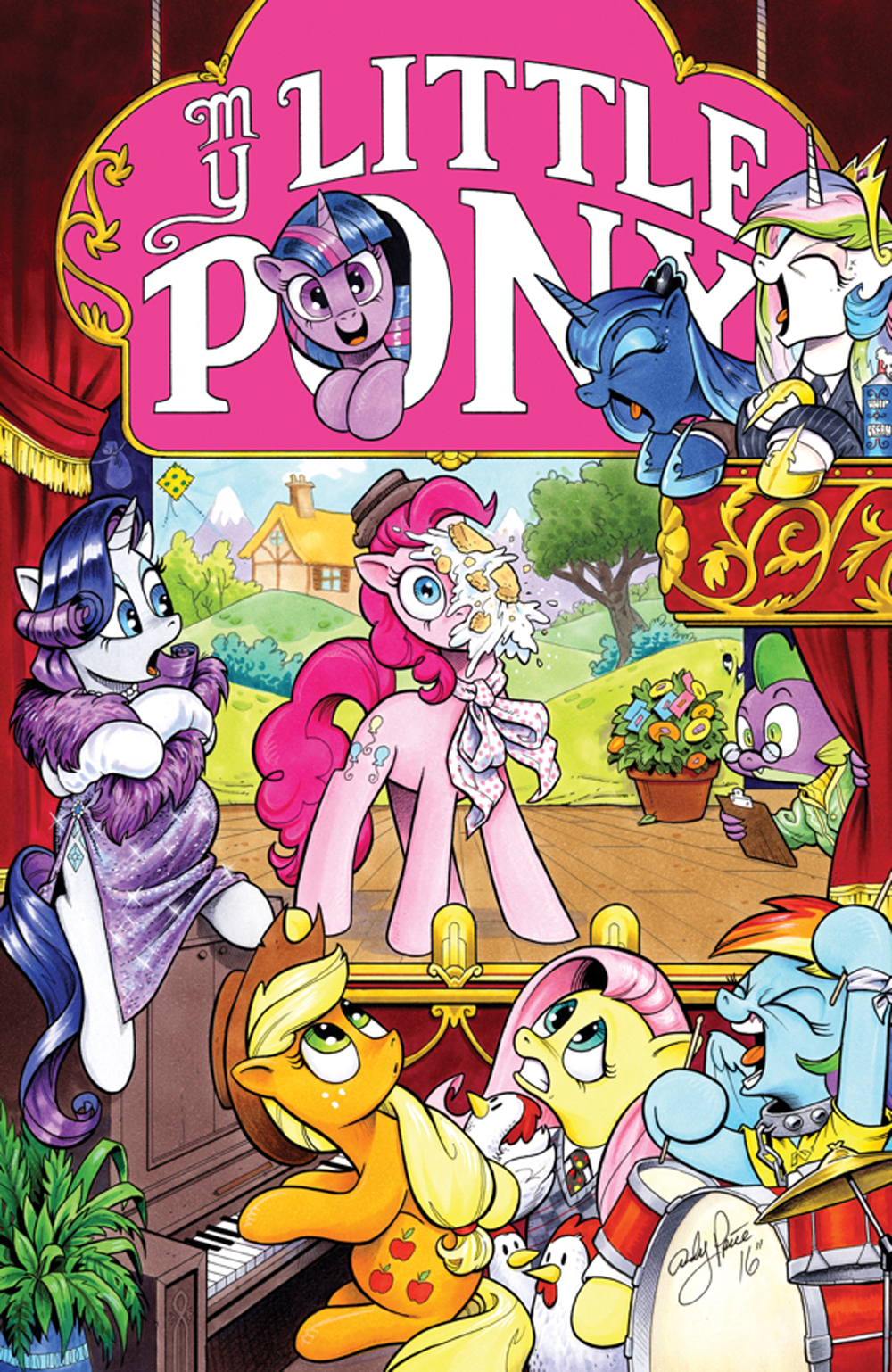 MY LITTLE PONY FRIENDSHIP IS MAGIC TP VOL 12 (MAR170615)