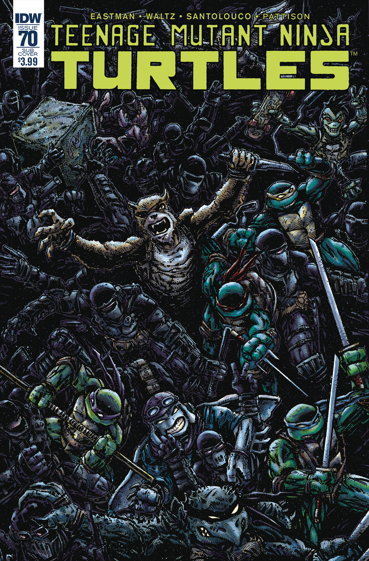 TMNT ONGOING #70 SUBSCRIPTION VAR