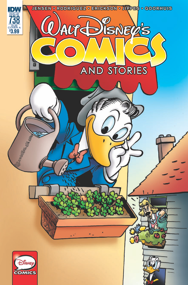 WALT DISNEY COMICS & STORIES #738 SUBSCRIPTION VAR