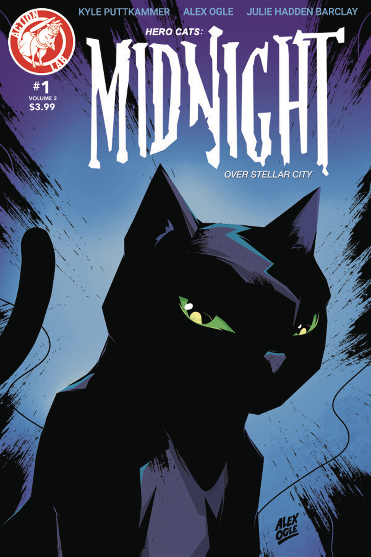 HERO CATS MIDNIGHT OVER STELLAR CITY VOL 2 #1