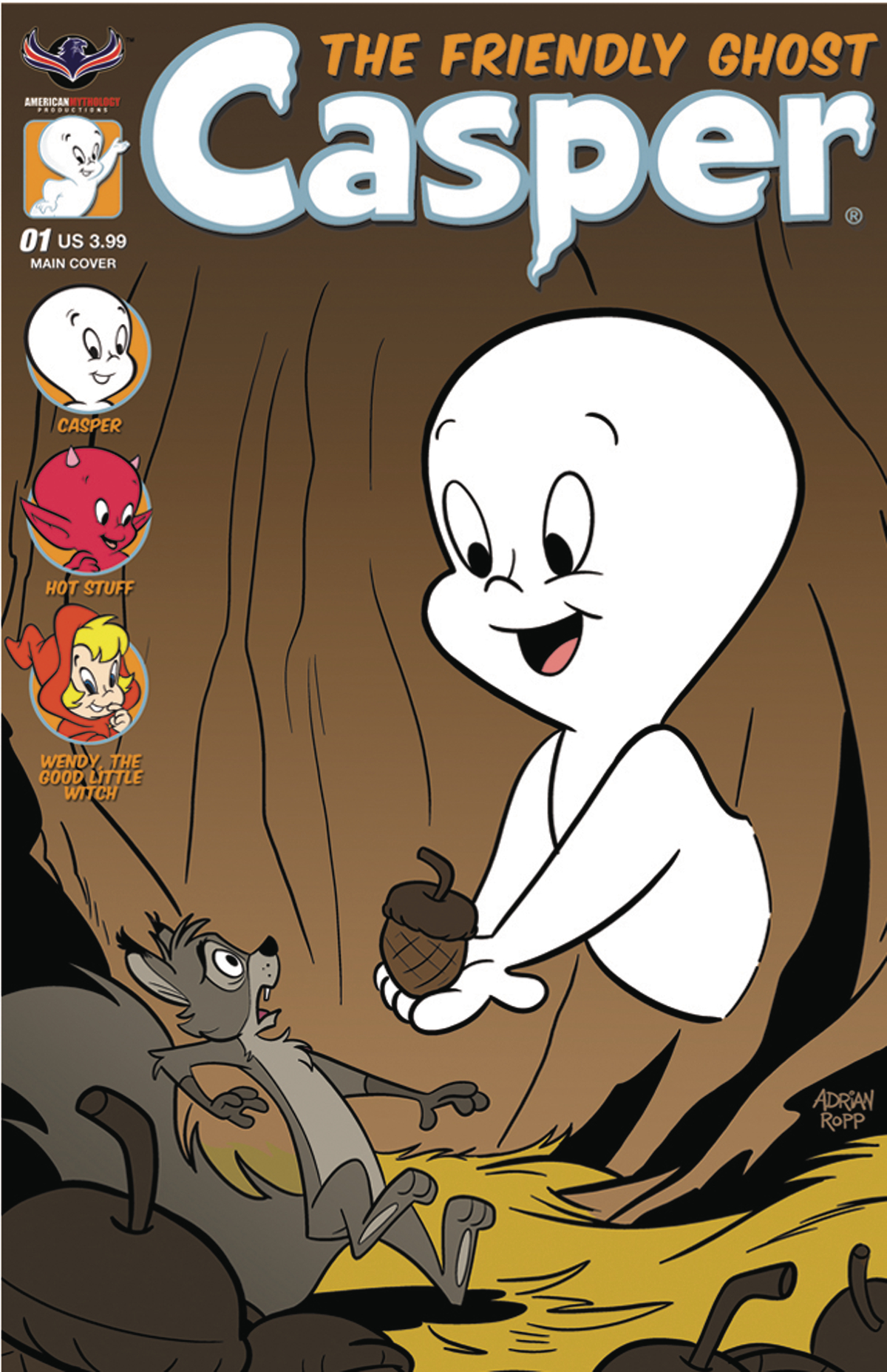 CASPER THE FRIENDLY GHOST #1 ROPP CVR