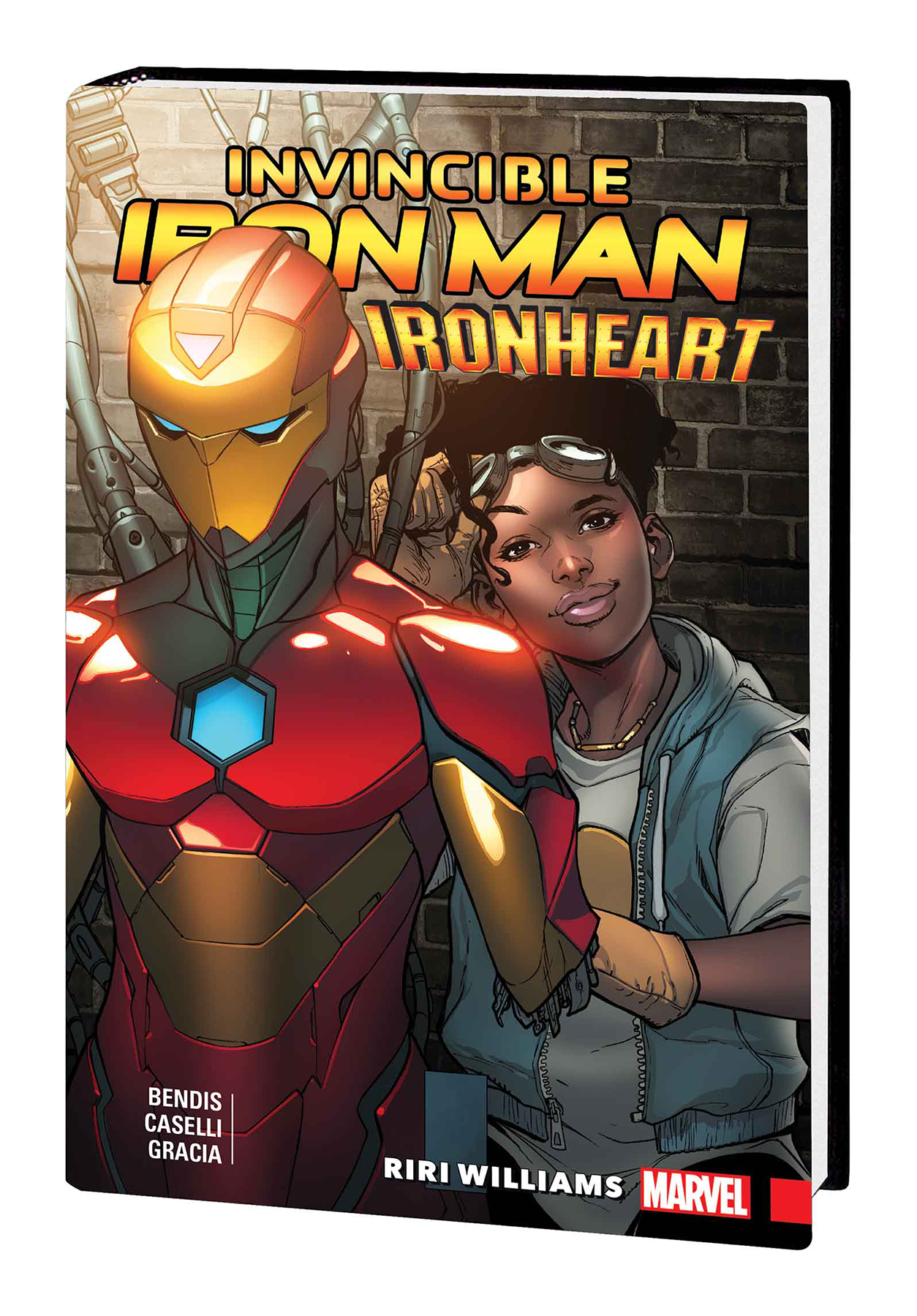 INVINCIBLE IRON MAN IRONHEART PREM HC VOL 01 RIRI WILLIAMS