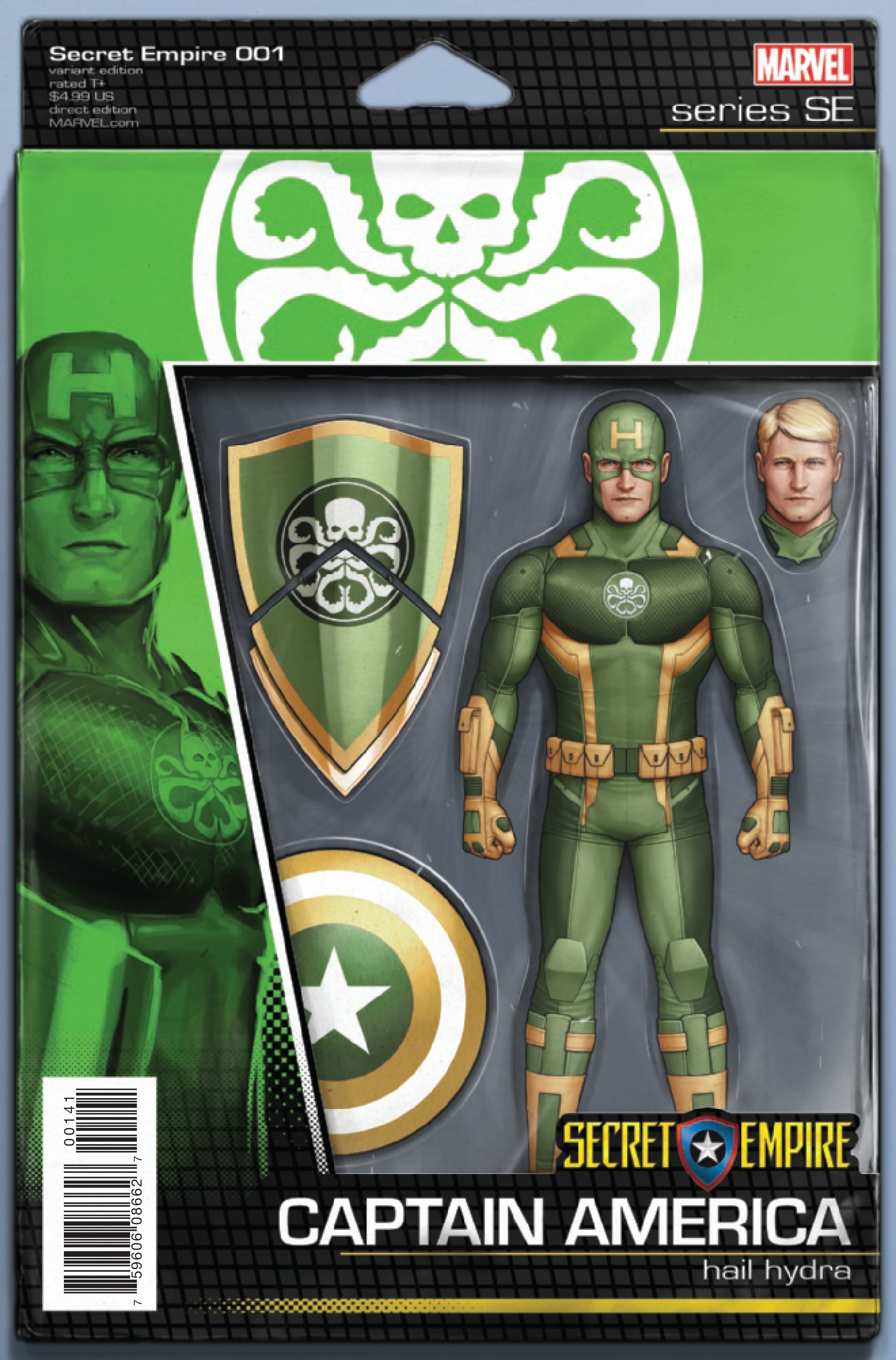 SECRET EMPIRE #1 (OF 10) CHRISTOPHER ACTION FIGURE VAR