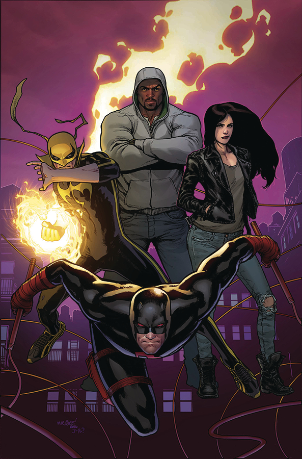 DEFENDERS #1 BY MARQUEZ POSTER