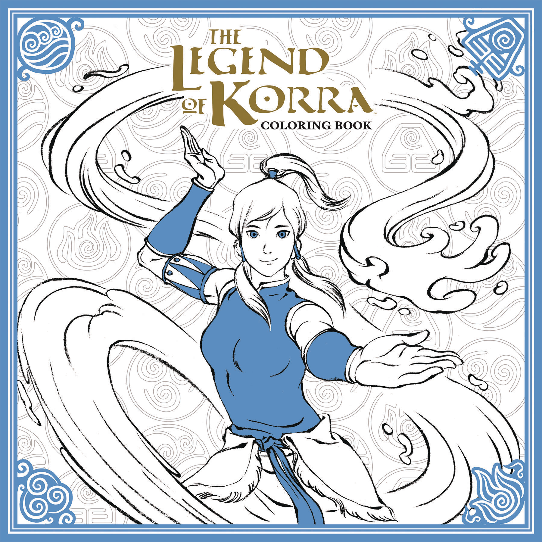 LEGEND OF KORRA COLORING BOOK TP