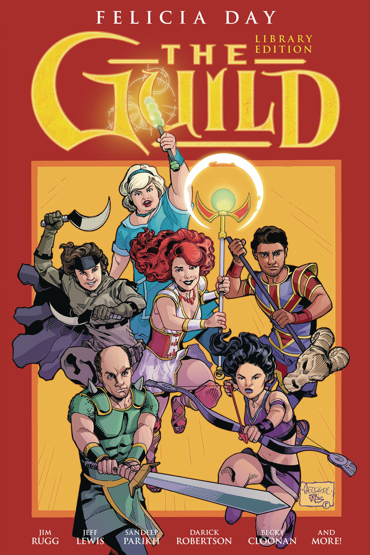 GUILD LIBRARY EDITION HC VOL 01 (MAR170045)
