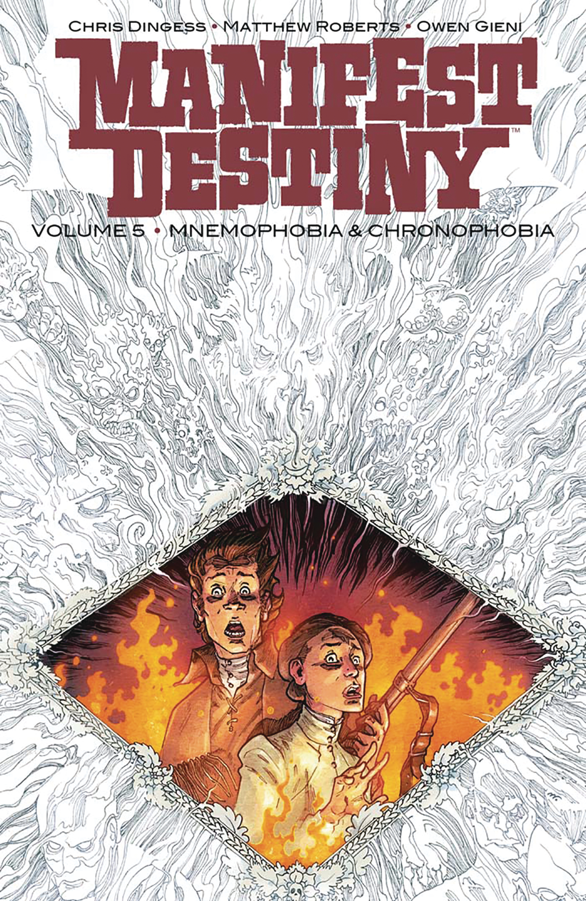 MANIFEST DESTINY TP VOL 05 MNEMOPHOBIA & CHRONOPHOBIA (JUN17