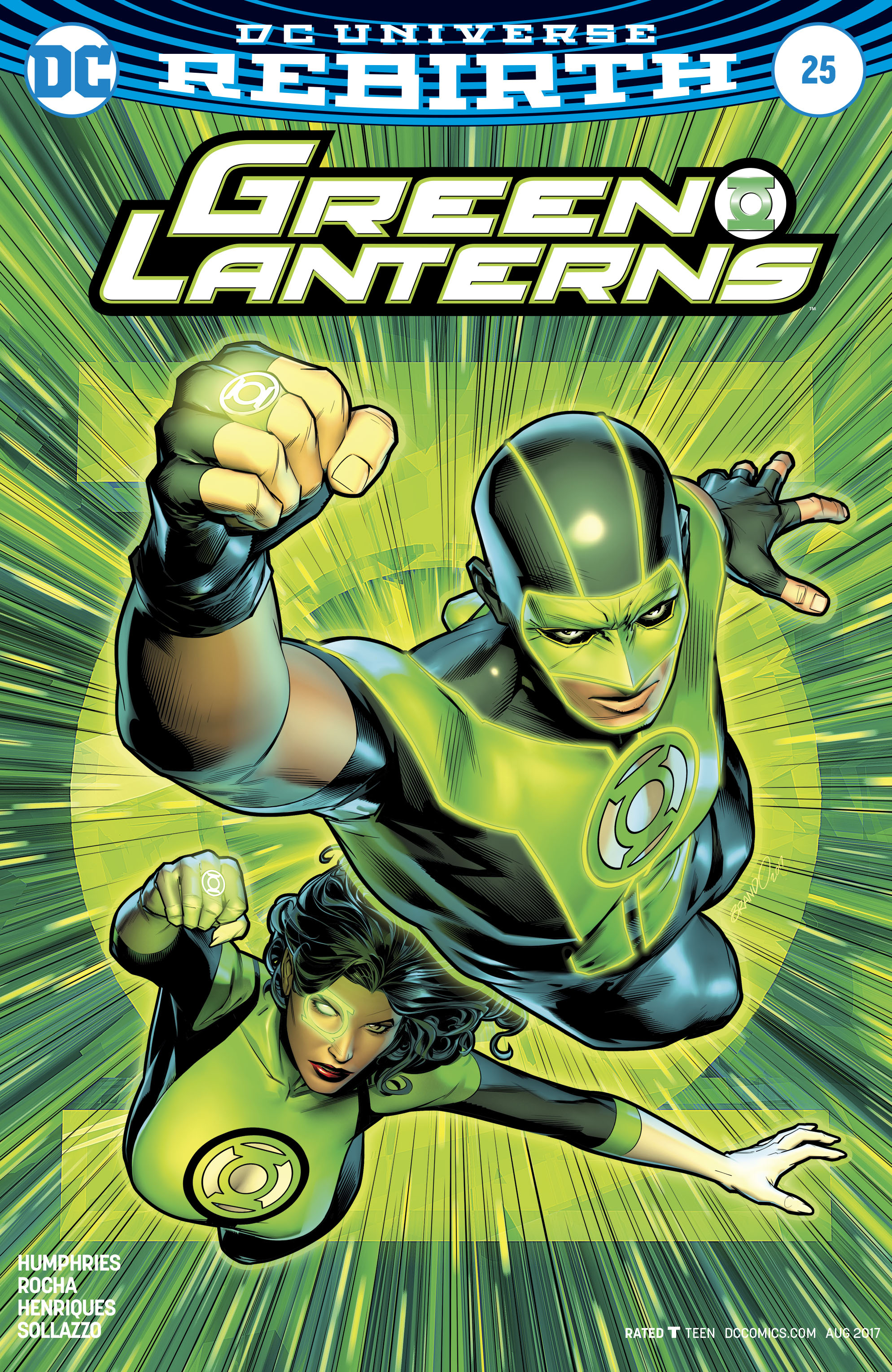 GREEN LANTERNS #25 VAR ED
