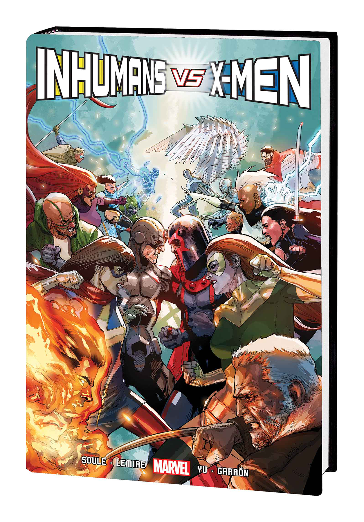 INHUMANS VS X-MEN HC