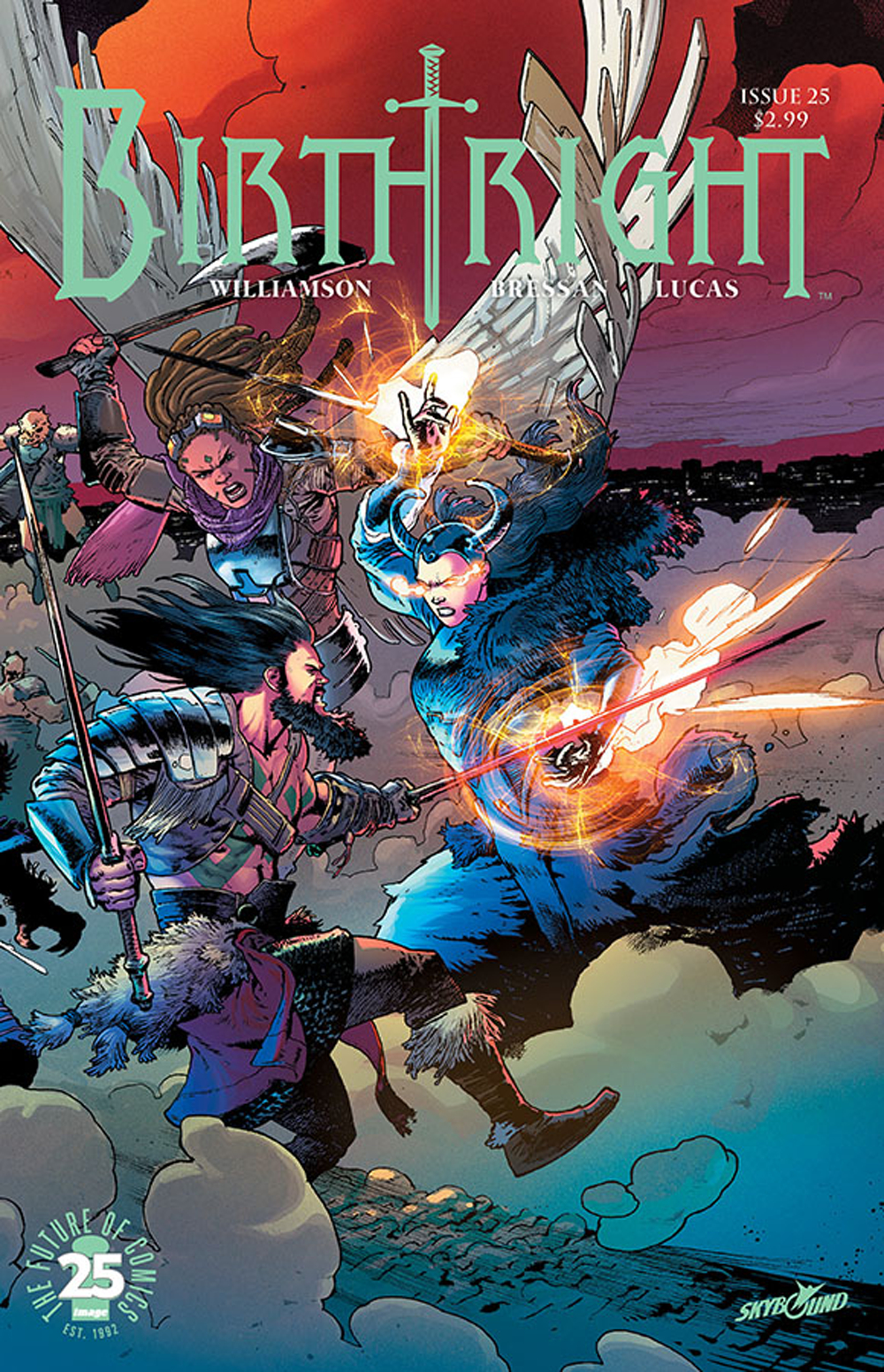 BIRTHRIGHT #25 (MR)