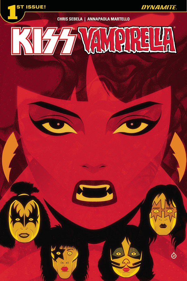 KISS VAMPIRELLA #1 (OF 5) CVR A DOE