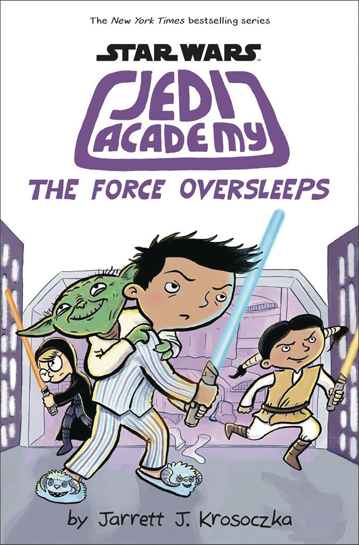STAR WARS JEDI ACADEMY YR HC VOL 05 FORCE OVERSLEEPS