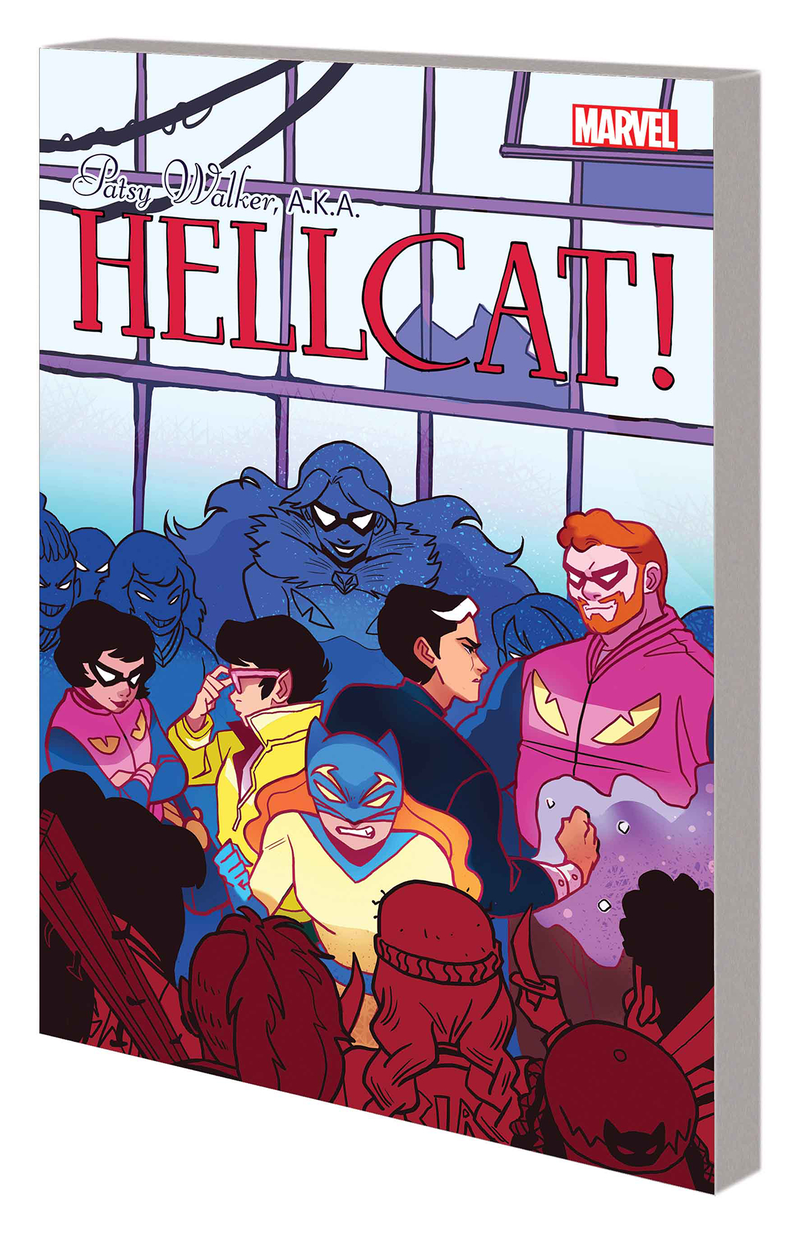 PATSY WALKER AKA HELLCAT TP VOL 03 CARELESS WHISKERS