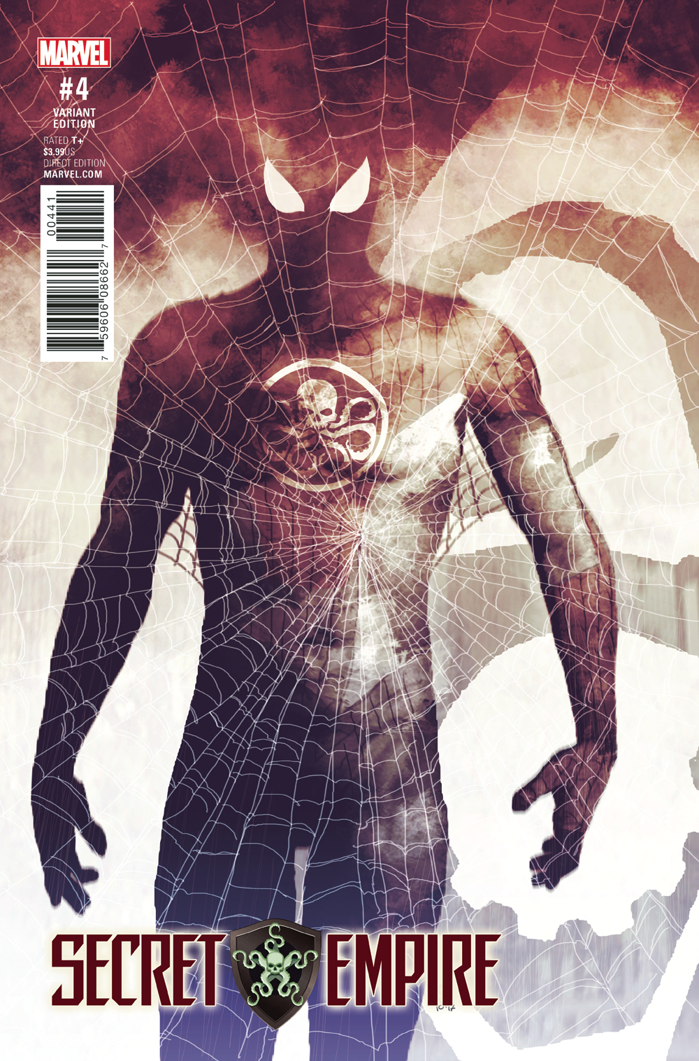 SECRET EMPIRE #4 (OF 10) SORRENTINO HYDRA HEROES VAR