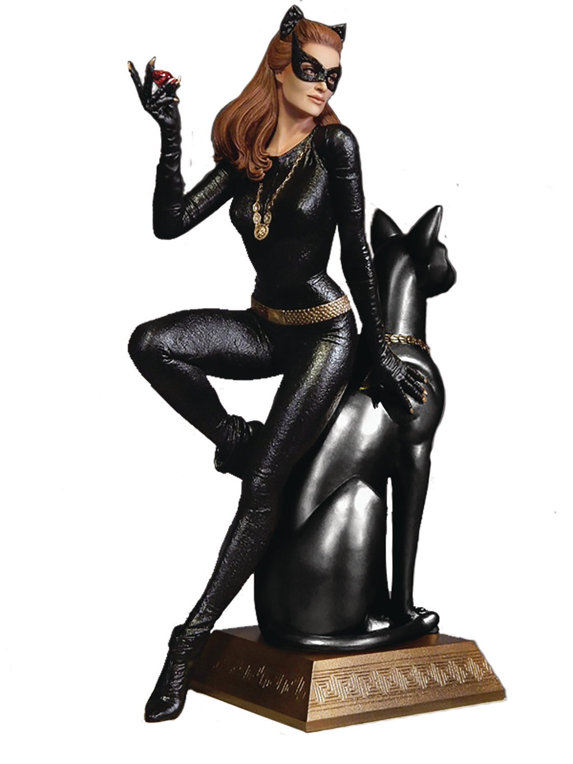 Jan178991 batman 1966 catwoman ruby ed maquette for Maquette stand