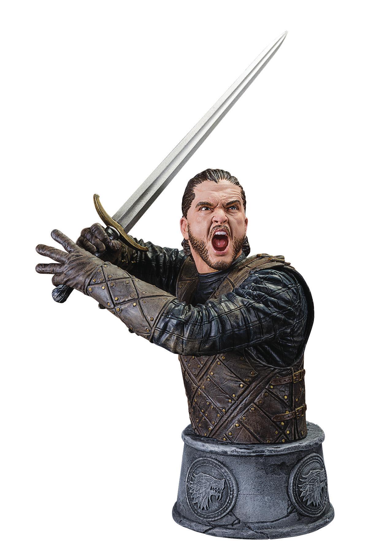 May170077 Game Of Thrones Bust Jon Snow Ltd Ed