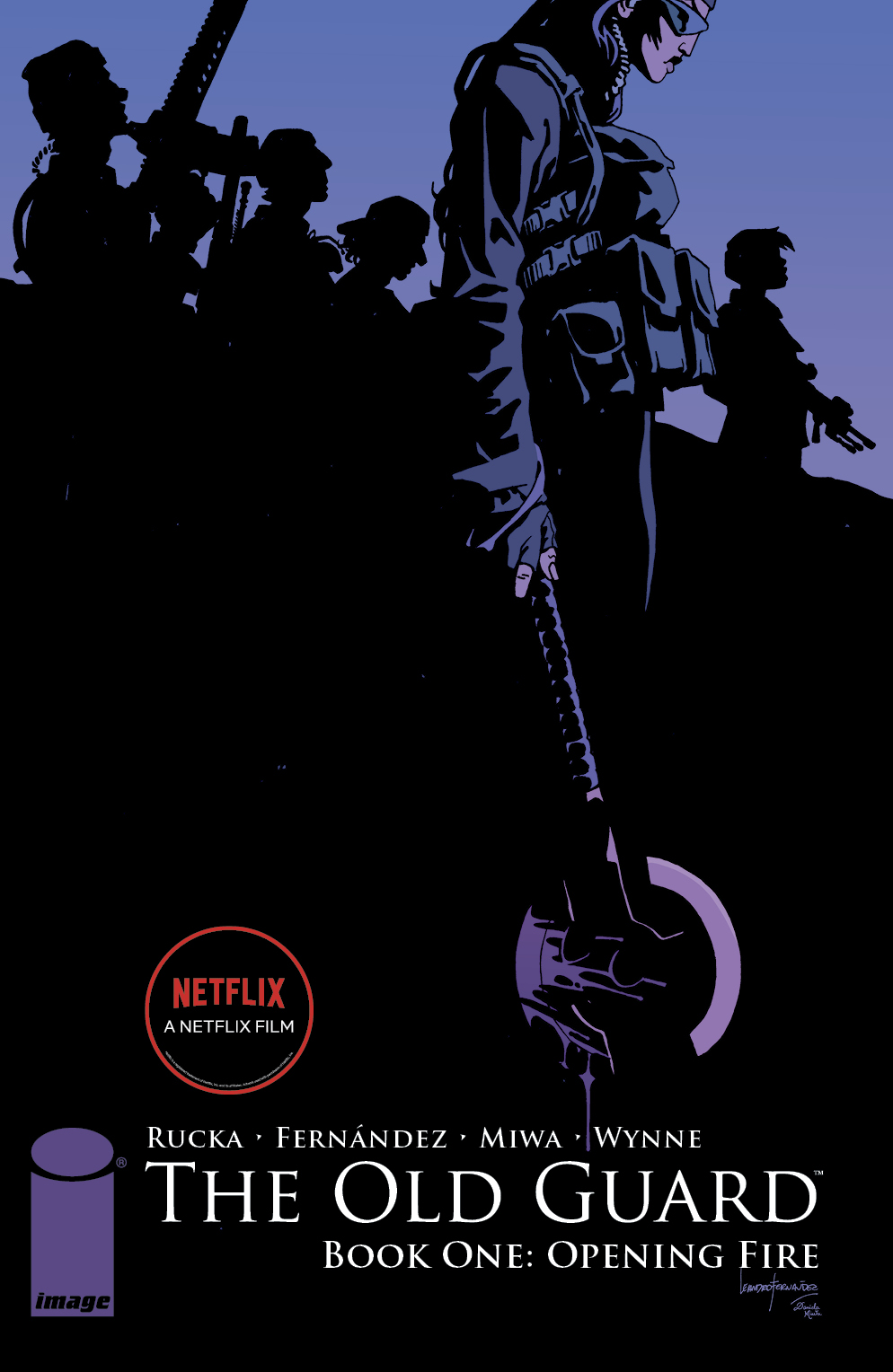 OLD GUARD TP BOOK 01 OPENING FIRE (MR) (Greg Rucka & Leandro Fernandez)