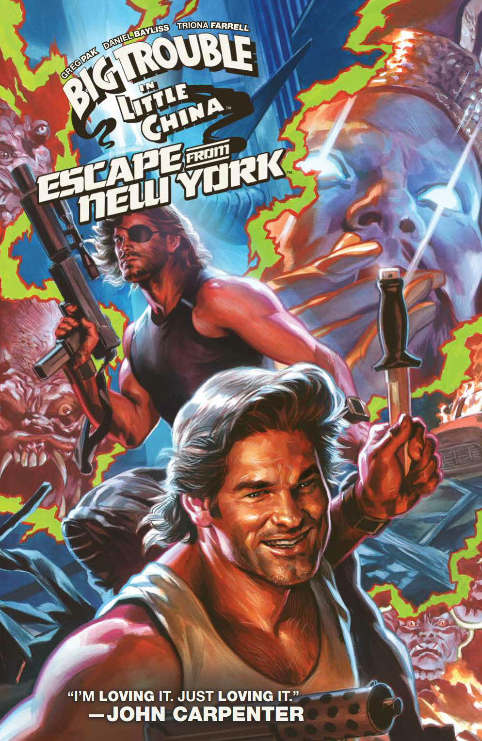 BIG TROUBLE IN LITTLE CHINA & ESCAPE FROM NEW YORK TP