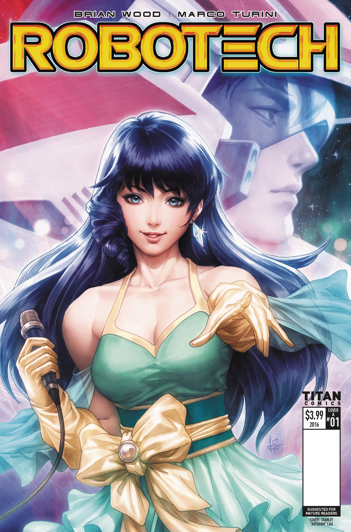 (USE MAY179024) ROBOTECH #1 CVR A LAU