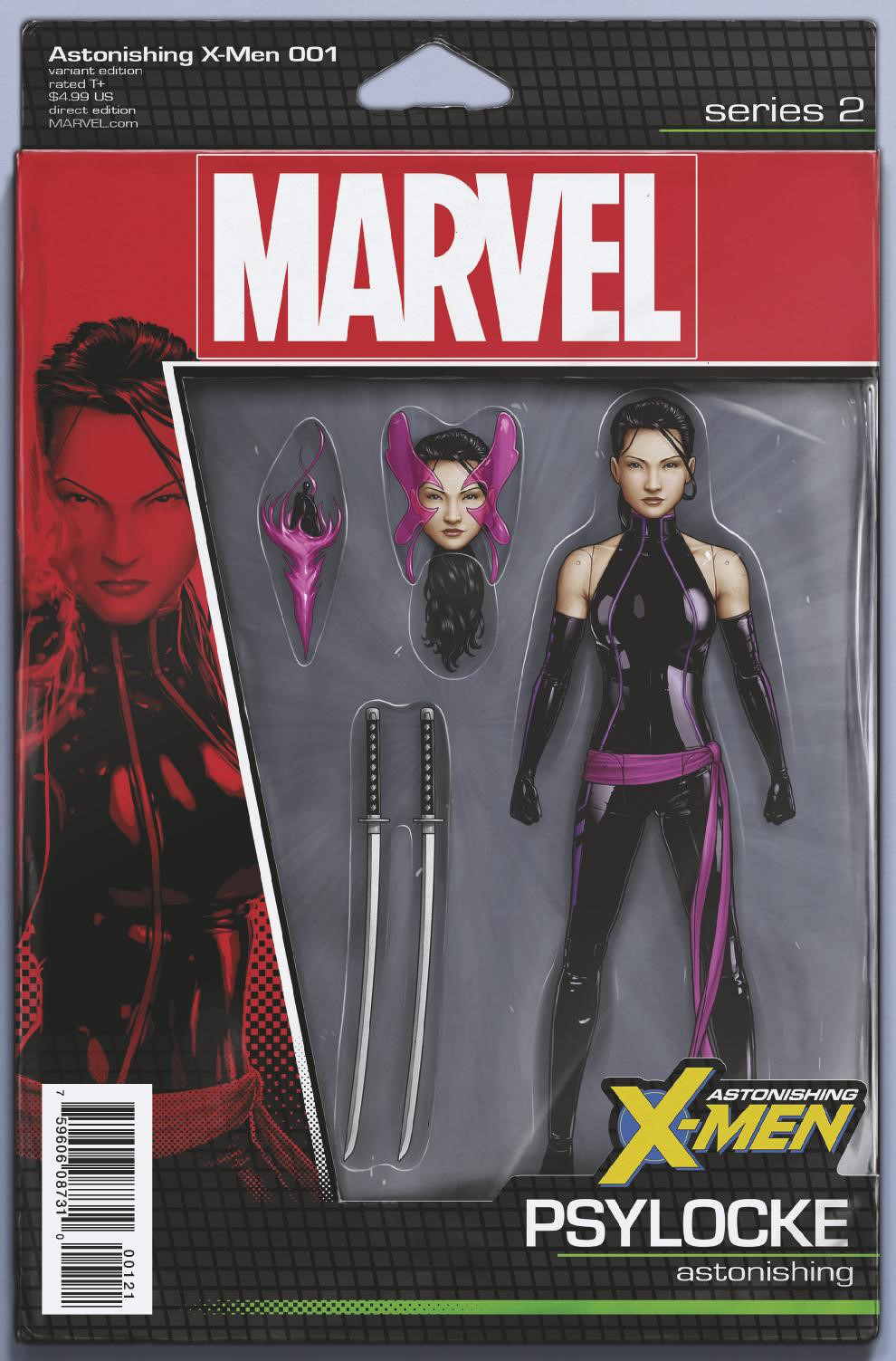 ASTONISHING X-MEN #1 CHRISTOPHER ACTION FIGURE VAR