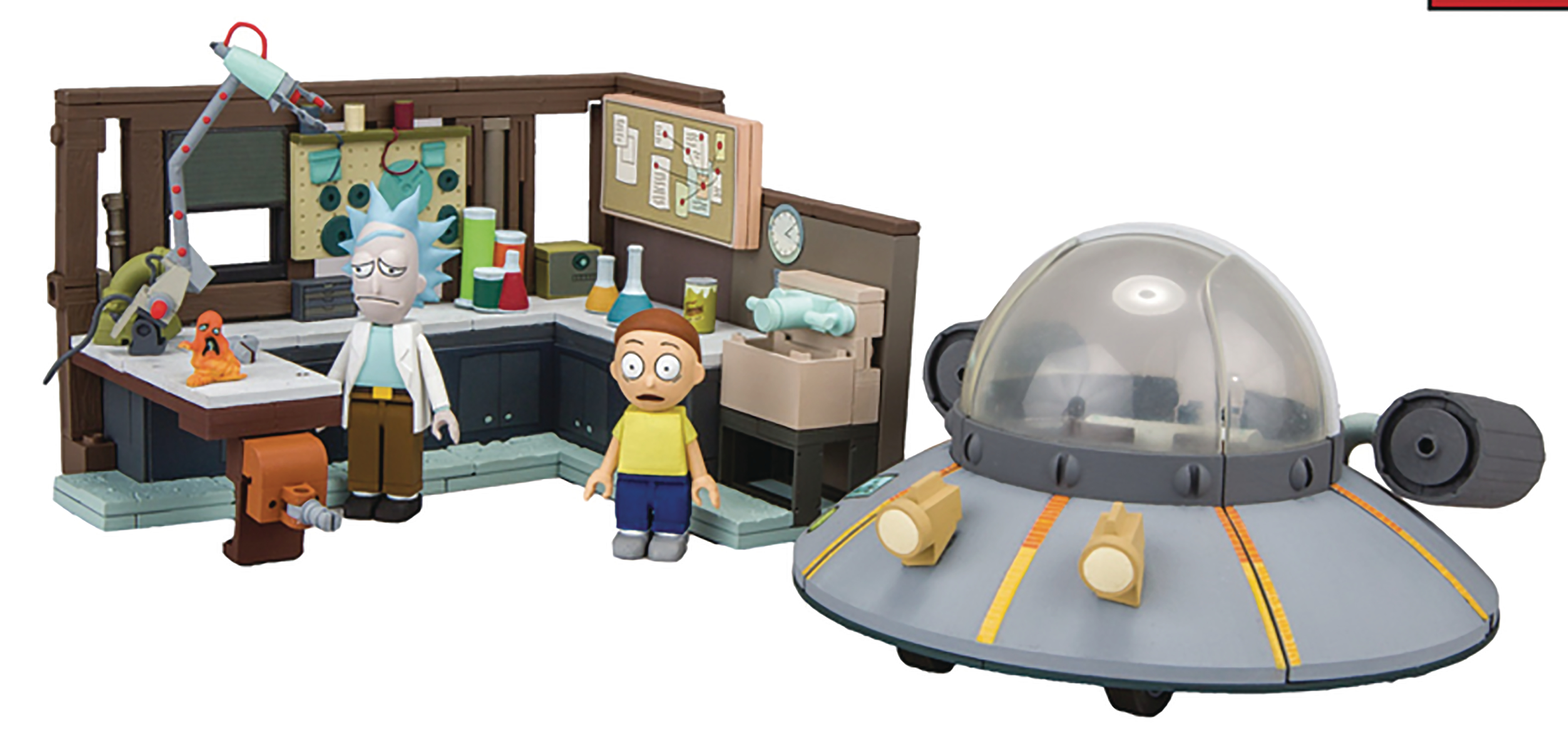 RICK & MORTY SPACESHIP CONSTRUCTION SET CS