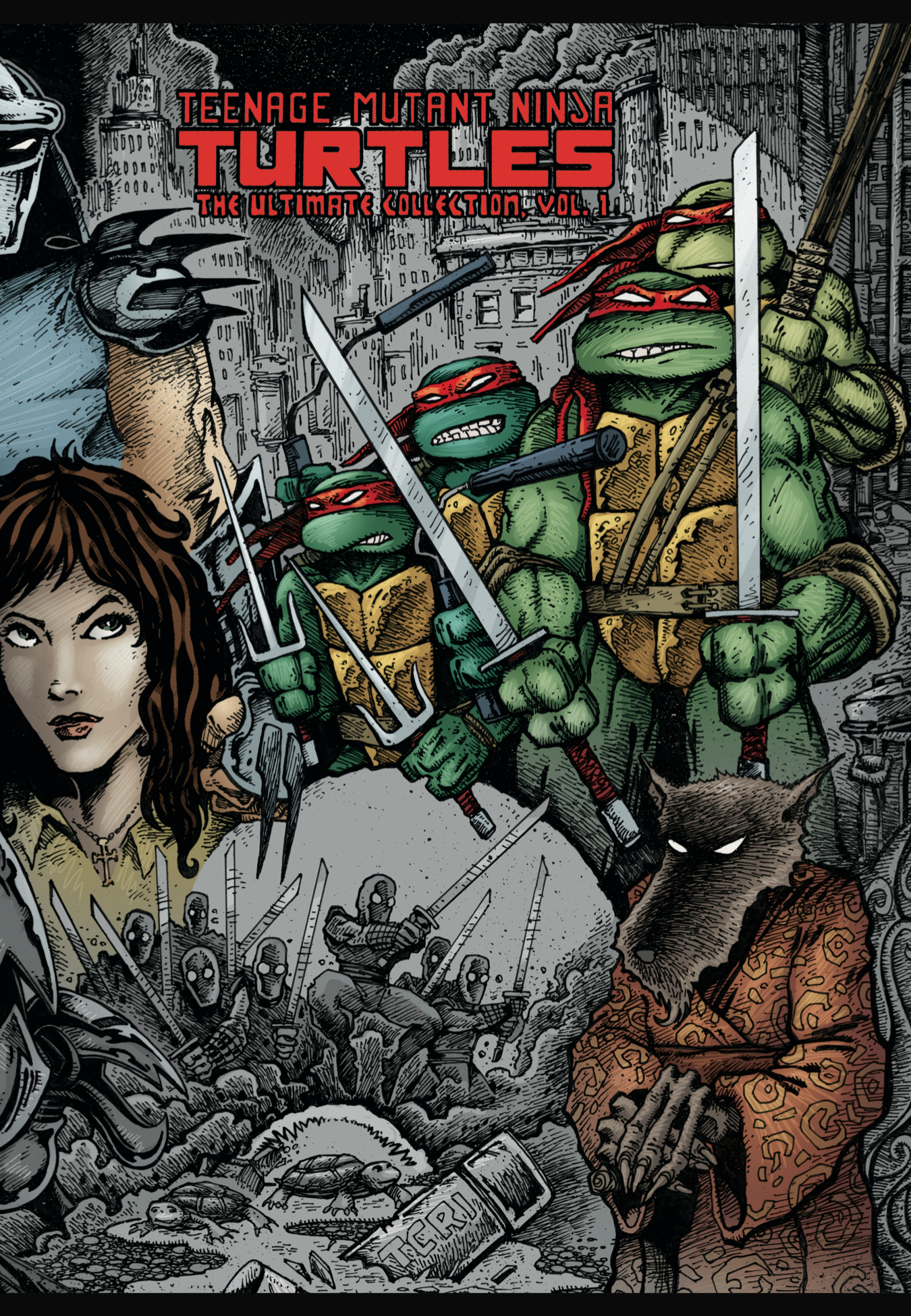 TMNT ULTIMATE COLL TP VOL 01