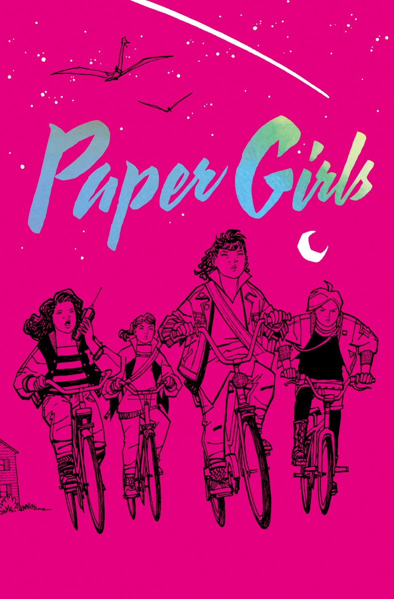 PAPER GIRLS DLX ED HC VOL 01 (AUG170571)