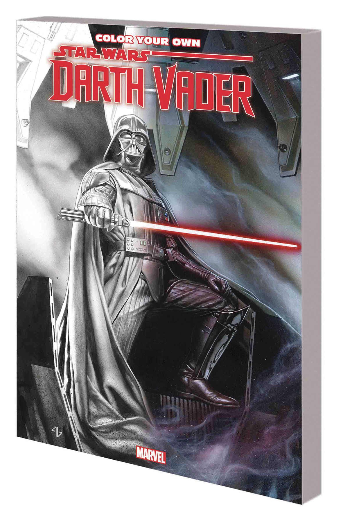 COLOR YOUR OWN STAR WARS DARTH VADER
