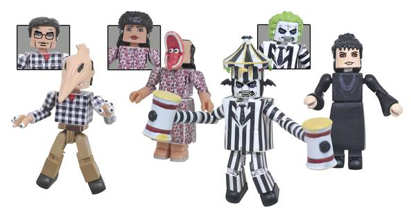 BEETLEJUICE MINIMATES BOX SET