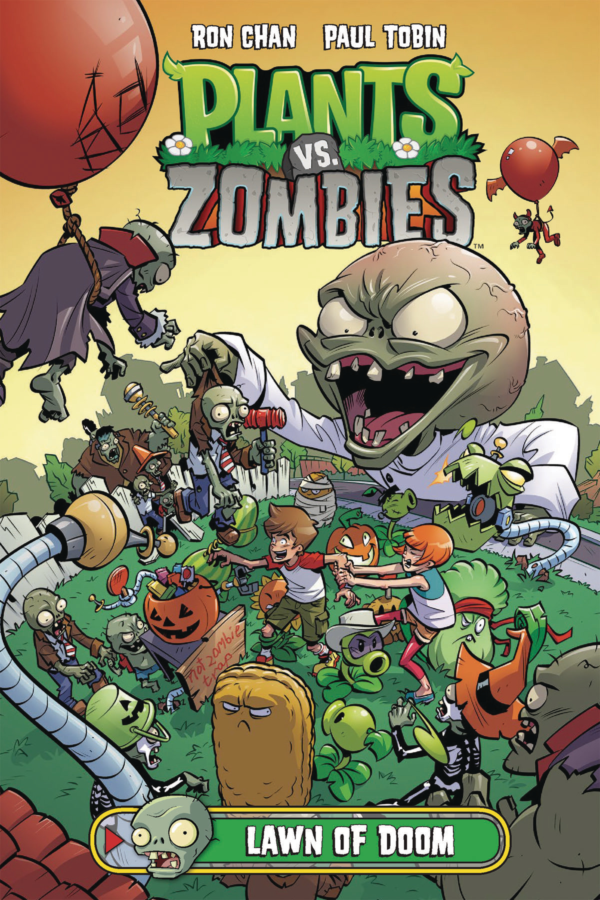 PLANTS VS ZOMBIES LAWN OF DOOM HC (JUN170096)