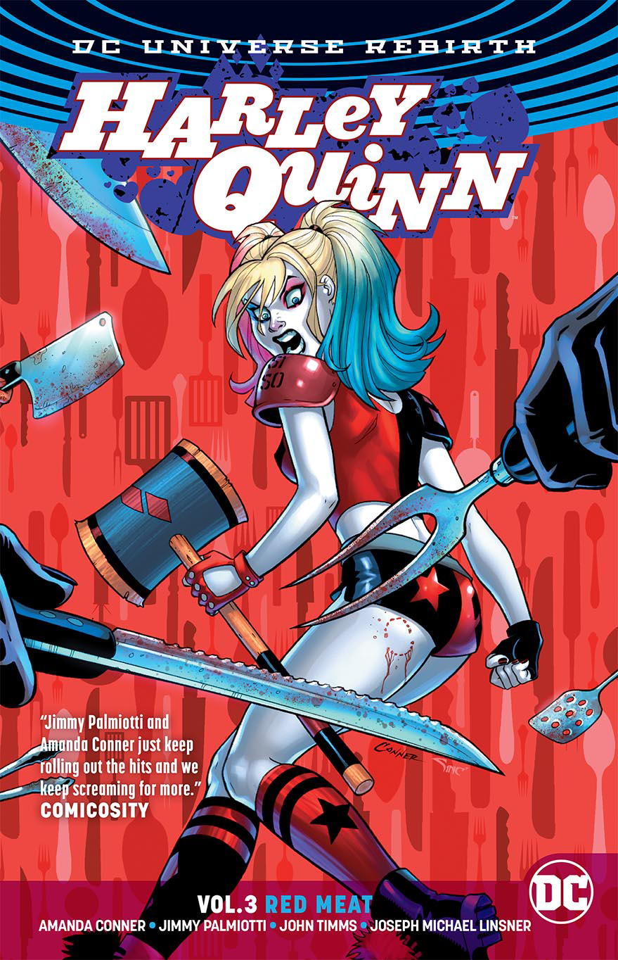HARLEY QUINN TP VOL 03 RED MEAT