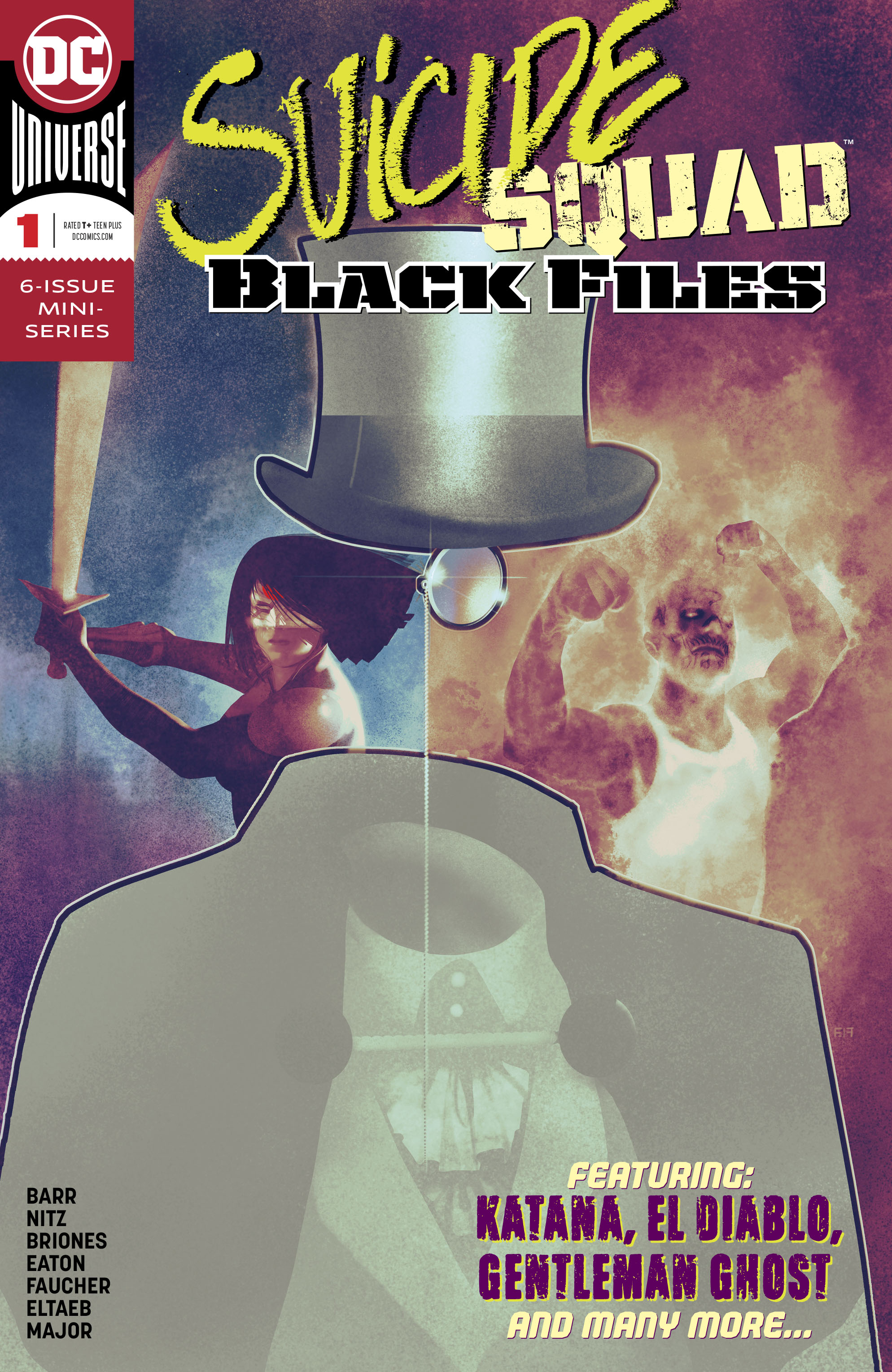 SUICIDE SQUAD BLACK FILES #1 (OF 6) (RES)