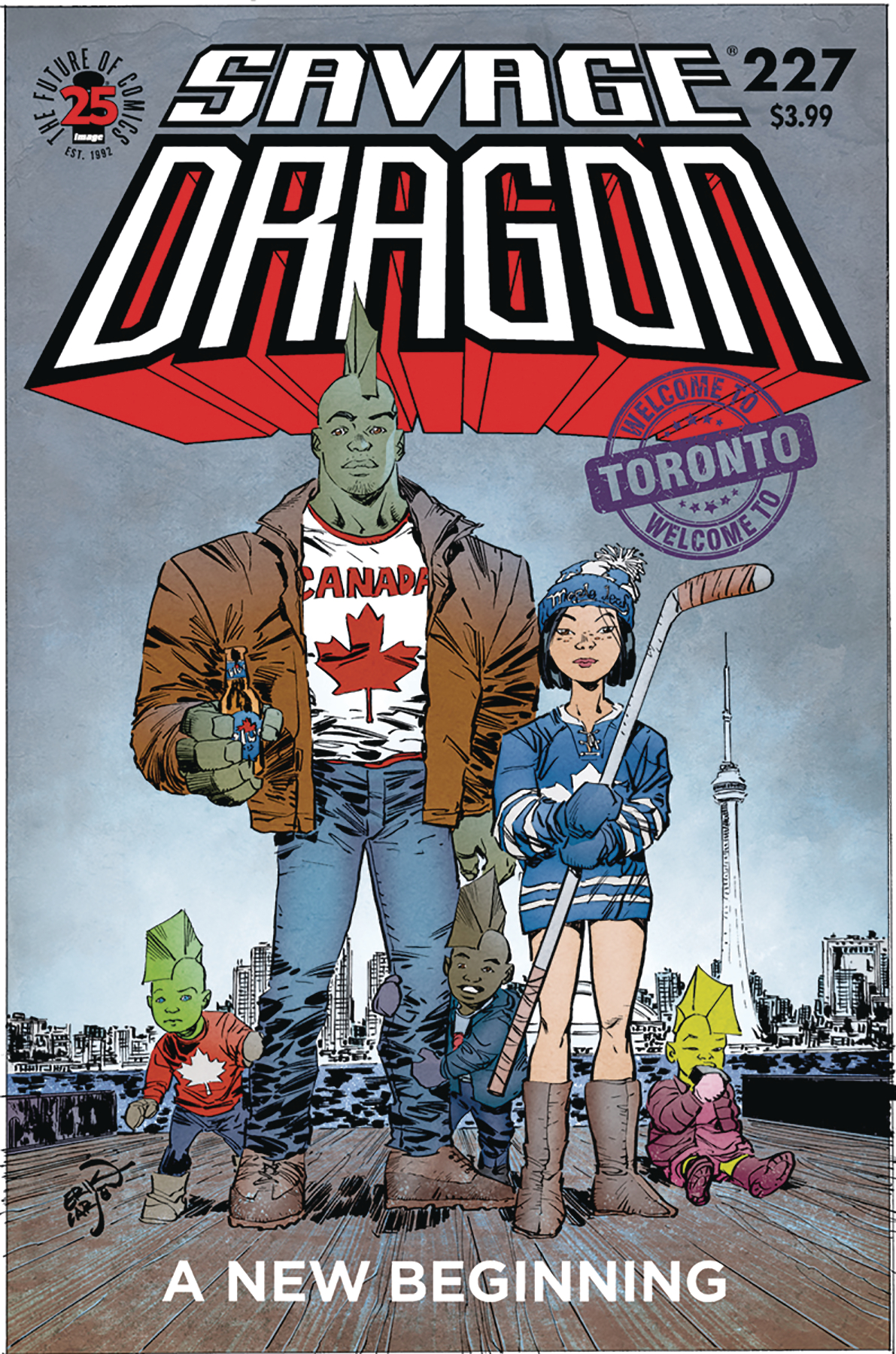 SAVAGE DRAGON #227 (RES)