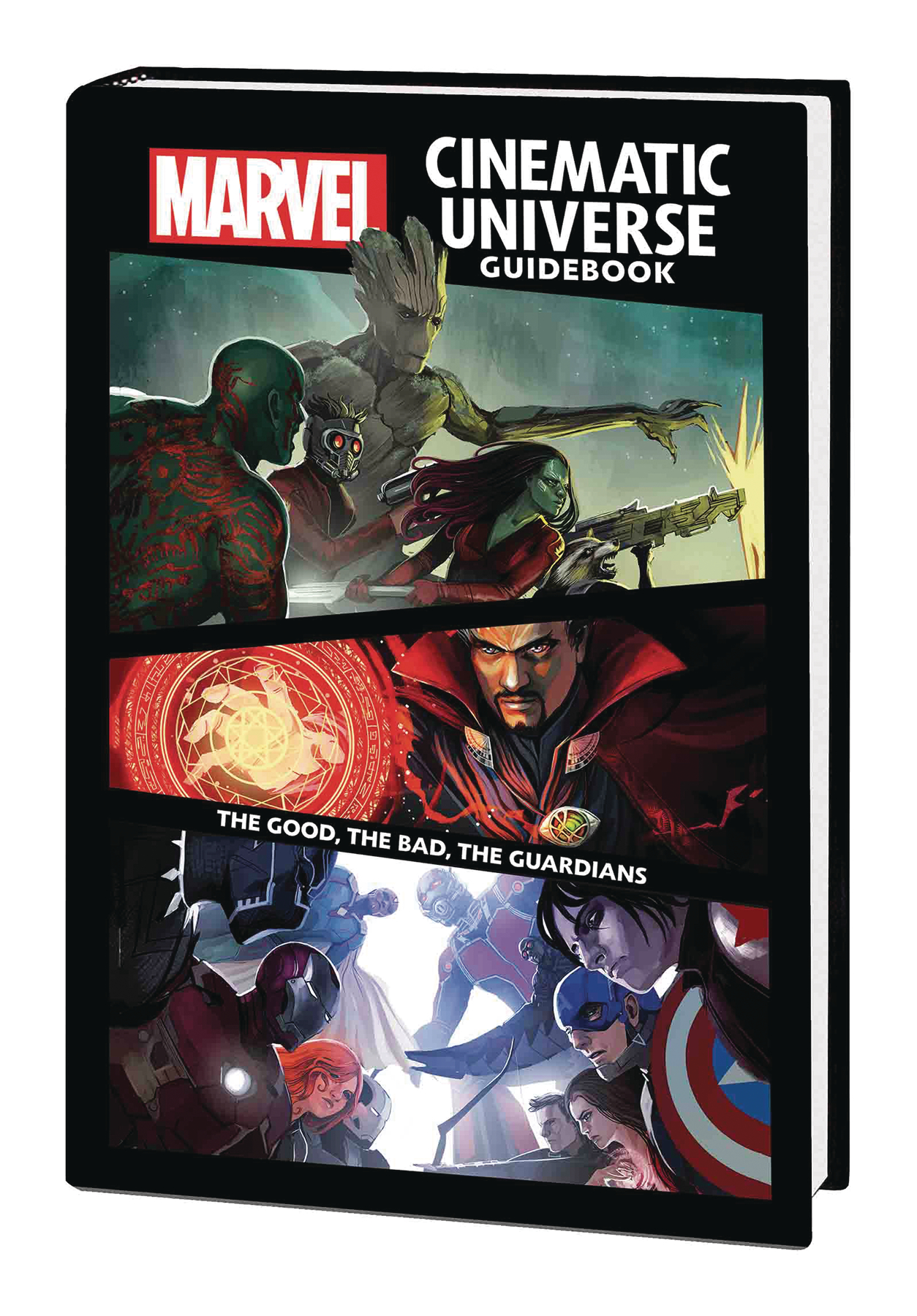 MARVEL CINEMATIC UNIVERSE GUIDEBOOK GOOD BAD GUARDIANS HC