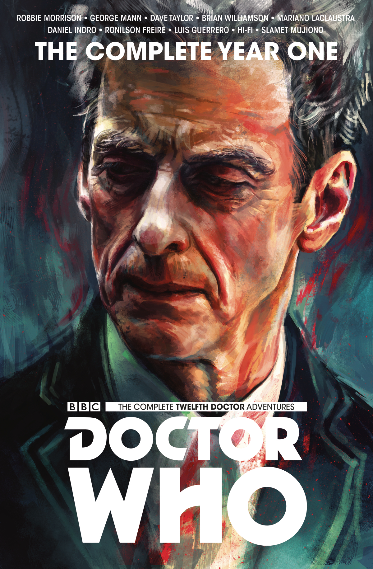 DOCTOR WHO 12TH COMPLETE ED YEAR ONE HC