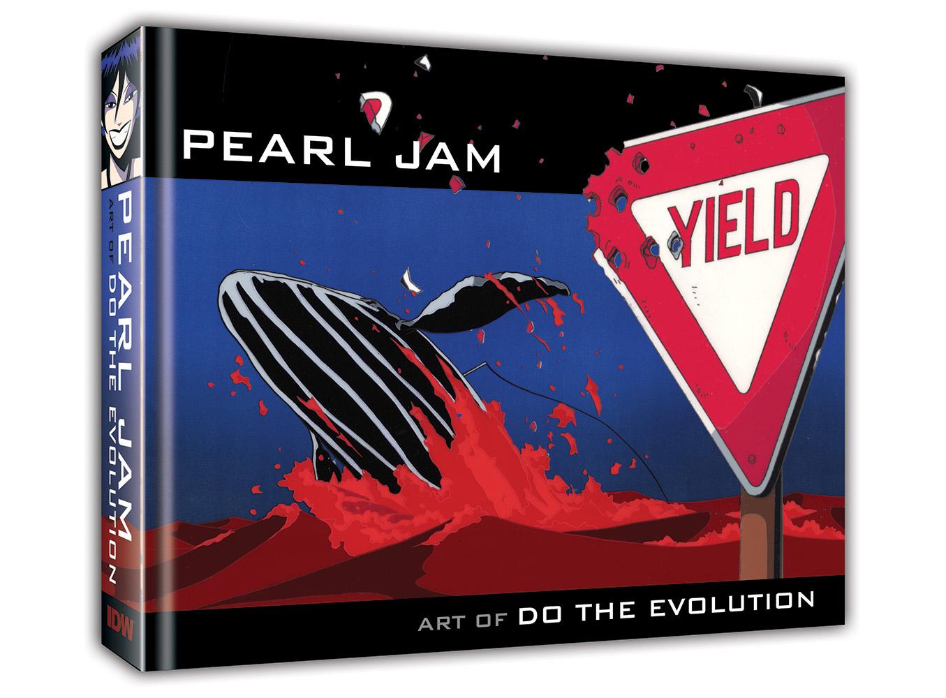 PEARL JAM ART OF DO THE EVOLUTION HC (RES)