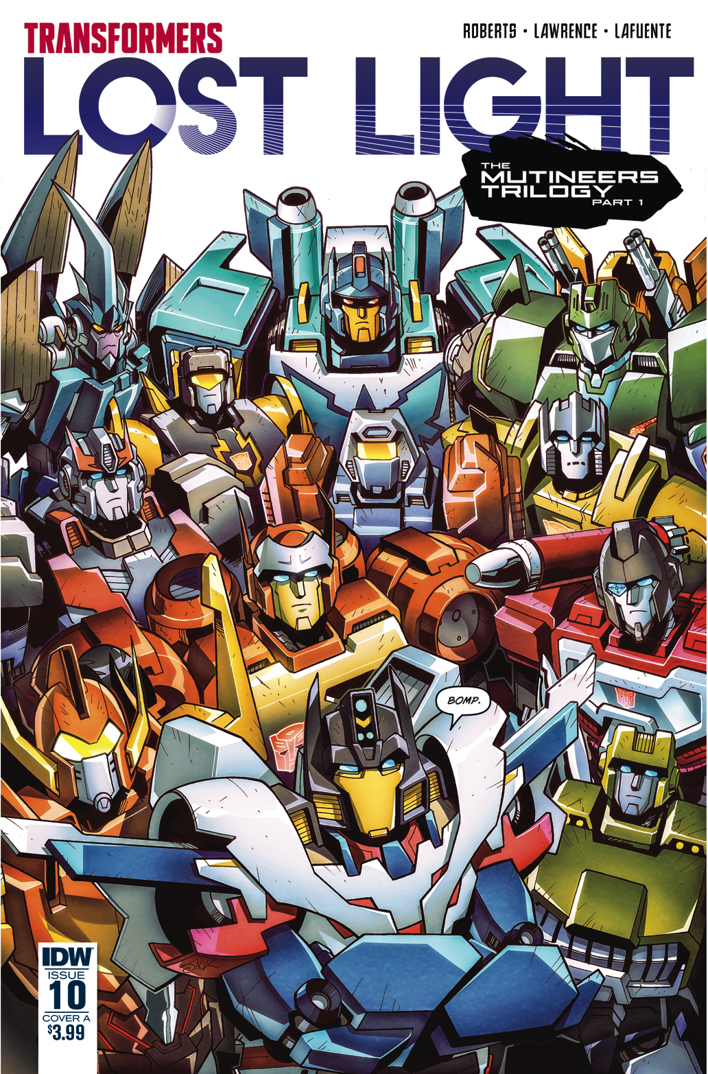 TRANSFORMERS LOST LIGHT #10 CVR A LAWRENCE