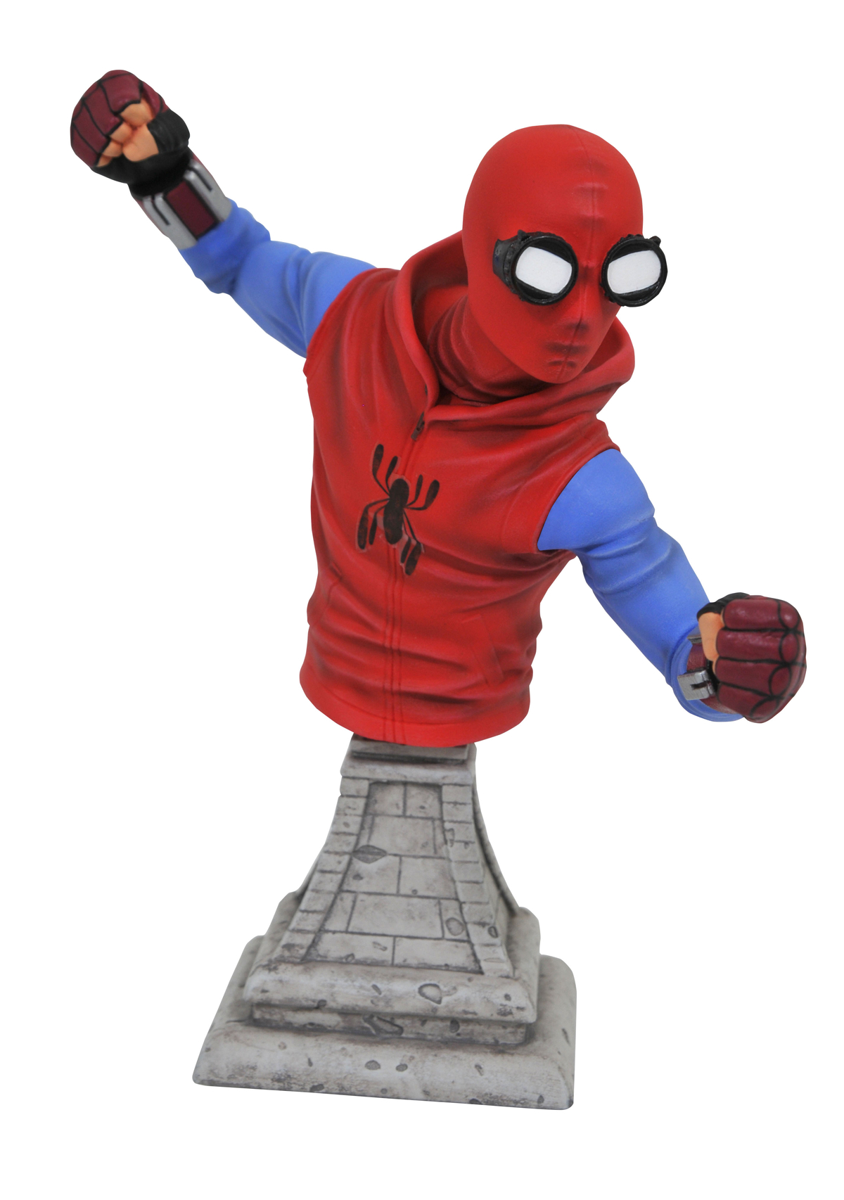 MARVEL SPIDER-MAN HOMECOMING HOMEMADE SPIDER-MAN BUST