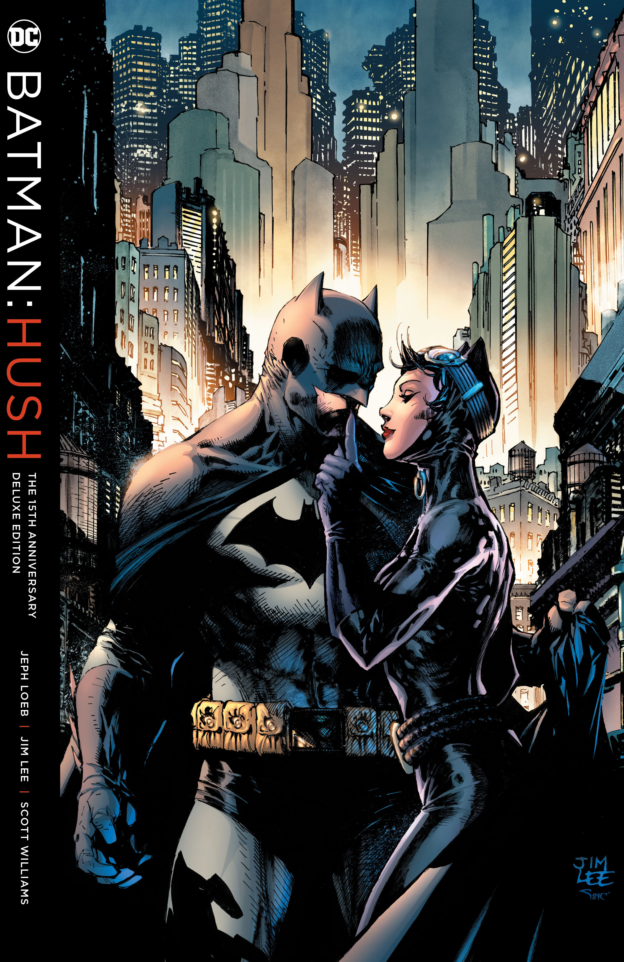 BATMAN HUSH 15TH ANNIVERSARY DLX ED HC