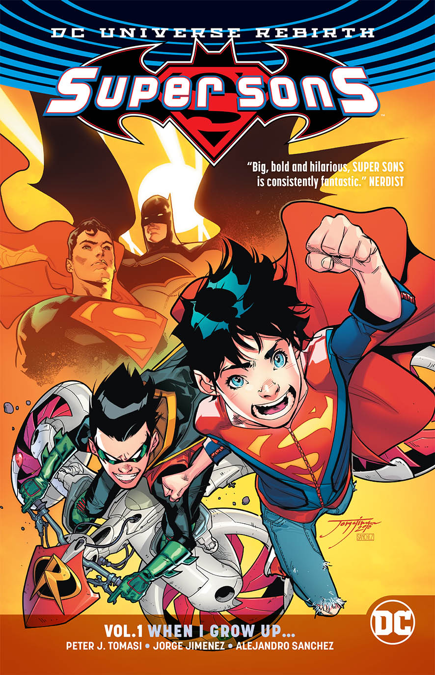SUPER SONS TP VOL 01 WHEN I GROW UP (REBIRTH)