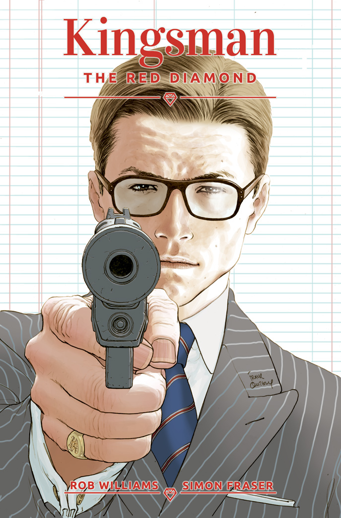KINGSMAN RED DIAMOND #1 (OF 6) CVR A QUITELY